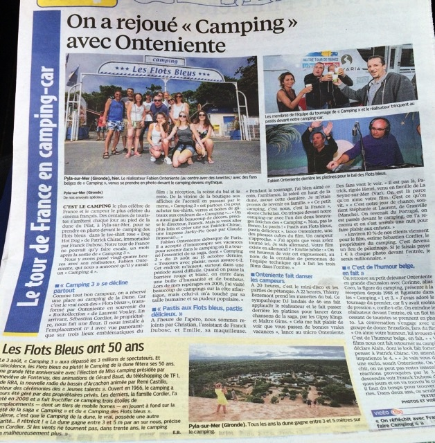LE PARISIEN ARTICLE ONTENIENTE